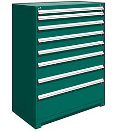 "Heavy Duty Modular Drawer Cabinet - 48""W x 24""D x 60""H, with 8 Drawers"