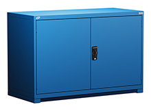 "Heavy Duty Modular Drawer Cabinet - 60""W x 24""D x 40""H, with 1 integrated door"