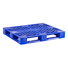 "Poly Picture Frame Rack Pallet w/ Grommets - Blue, 48""x40"""