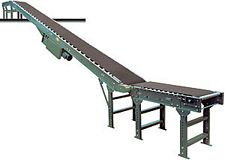"Roller Bed Incline Conveyor - 18"" W x 17' 10"" L"