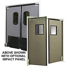 Etonnant Impact Door   Insulated Foam Core, 7u0027 X 5u0027, Bi Parting