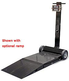 "Deckhand Scale - 31"" x 41"" platform with 1000 lb. capacity - 115 VAC"