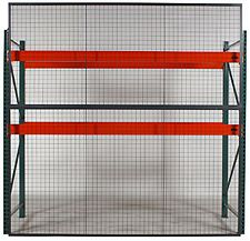 Wire Mesh Rack Backing, 8' Wide x 8' High