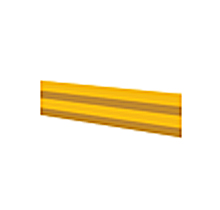 "Lite-Duty Guard Rail - 60"" Rail"