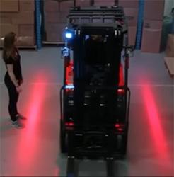 Forklift Side Warning Lights Led Or Laser Lift Truck