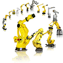 Fanuc Robotics Family