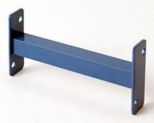 "12"" Row Spacer for 3"" Structural Rack Frame - Precaution Blue"