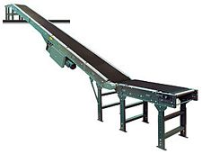 "Slider Bed Incline Conveyor - 30"" W x 28' L"
