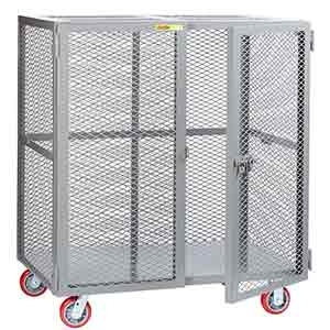 "Mesh Security Truck - 24""D x 48""W"