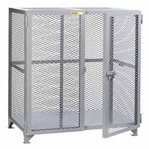 "Mesh Security Cabinet - 36""D x 72""W x 52""H"