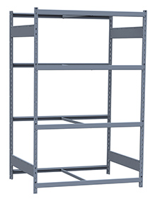 "Medium Duty Mini-Rack Shelving - 48"" W x 36"" D x 75""H, Starter w/ 4 Shelves"