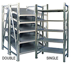 "Steel Pick Shelving - 78"" High"
