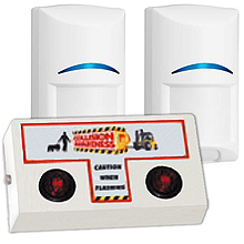 Exterior Motion Detection Security System - Office, 2 Sensors