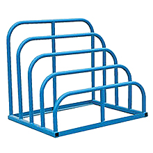 "Welded Variable Height Sheet Rack - 4-Bay, 47""W x 36""D x 40""H"