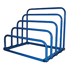 "Variable Height Sheet Rack - 4-Bay, 47""W x 36""D x 40""H"