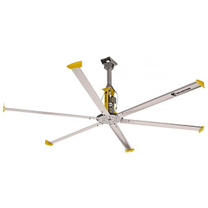 HVLS Ceiling Fan - Pre-wired with Keypad Controller - 14' Diameter