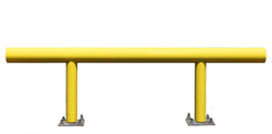 "Pipe Guard Rail - Heavy Single High - 42"" high x 8 ft. long"