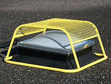 "SkyDome Skylight Guard - Fits 33"" x 33"" Skylights, 20"" Inside Ht"