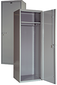 "Security Locker - Solid, 24""W x 22""D  x 72""H"