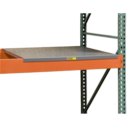 "Solid Steel Pallet Rack Decking - 24""D x 46""W"