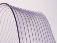 "12"" x .120"" x 75' Roll of Vinyl Strip Material - Std. Scratch-Guard Material"