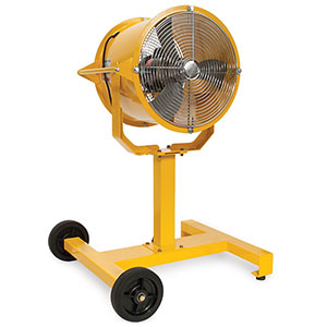 "Sweat Bee 18"" Fan with Portable Base"