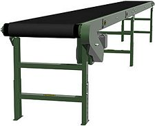 "Heavy Duty Slider Bed Conveyor - Model TL 42"" OAW, 32'-1"" long"