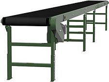 "Heavy Duty Slider Bed Conveyor - Model TL 30"" OAW, 32'-1"" long"