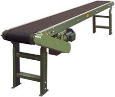 "Powered Belt Conveyor, Model TA - 10"" OAW, 11' long"