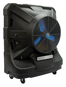 "Portable Workspace Evaporative Cooler - 36"" Fan"