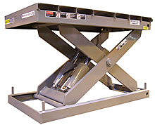 "Scissor Lift - 24 X 48, 36"" Travel, 1,500 lb. Cap."