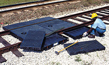 9-Foot Railroad Spill Containment System