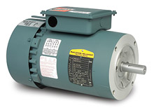 Brake Motor - 1 Hp, 208-230/460 VAC, 3 Phase, 56C Frame, 1800 Rpm