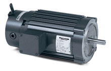 Brake Motor - 1/2 Hp, 208-230/460 VAC, 3 Phase, 56C FR., 1800 Rpm, TENV
