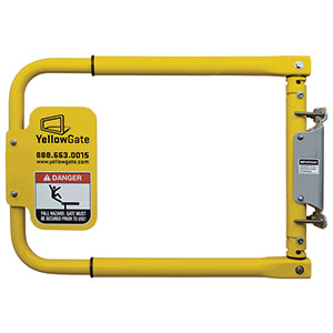 "Adjustable Pedestrian Safety Gate - 16""-36""W x 20""H"