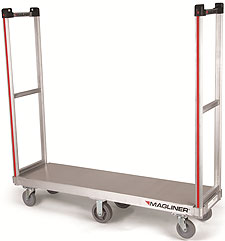 "Commercial Use Bulk Delivery Truck - 1 Handle & 16"" x 60"" Deck"