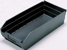 "Conductive Shelf Bin - 23-5/8"" x 6-5/8"" x 4"" - Carton of 8"