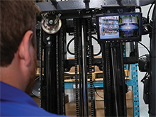 "Forklift Safety Camera System - Wireless, 7"" or 9"" Monitor"