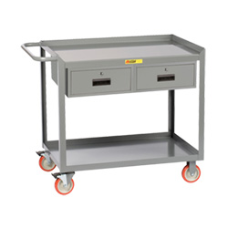 "Portable Workstation - 24"" x 48"" - 2 Drawers"
