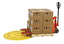 "Pallet Load/Unload Turntable - 4000 lb. cap., 43"" disc"
