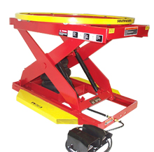 Pallet Level Loader - Powered Pneumatic, 2000 lb.