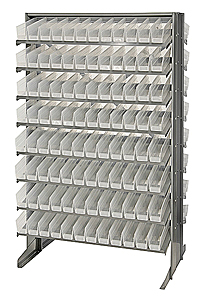 Double-Sided Pick Rack System w/ 192 Clear View Bins