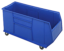 "Mobile Rack Bin 42"" Container - 41-7/8""L x 16-1/2""W x 20-1/2""H"