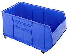 "Mobile Rack Bin 42"" Container - 41-7/8""L x 23-7/8""W x 20-1/2""H"