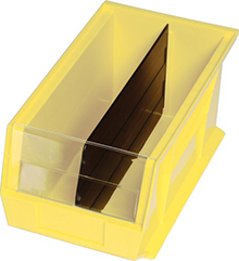 Dividers for QUS 220 Ultra Stack & Hang Bin - Carton of 6