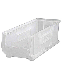 "Clear View Extra Large 24"" Clear View Containers, Qty:6"