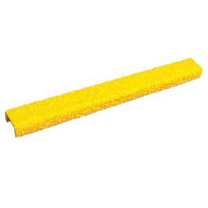 "Rung Cover - 14"" x .75"" Channel, Fine Grit, Yellow"