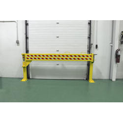 Folding Rail Dock Safety Gate - 13,500 lbs Impact Capacity, Single Rail