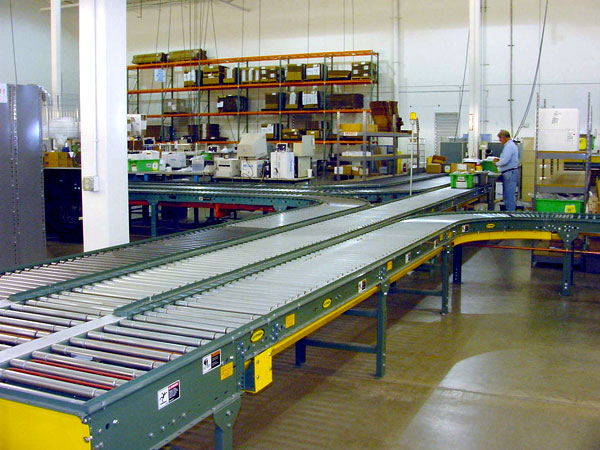conveyor system for Aviall's Texas distribution center