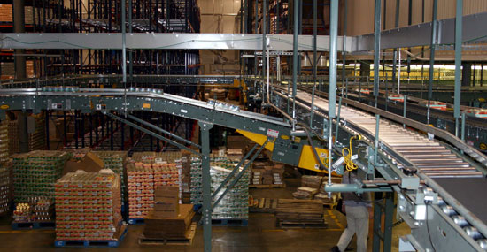 Simmons conveyor system